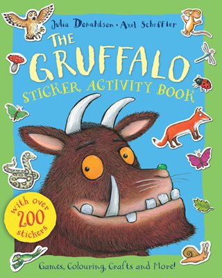 Book cover for The Gruffalo Sticker Activity Book